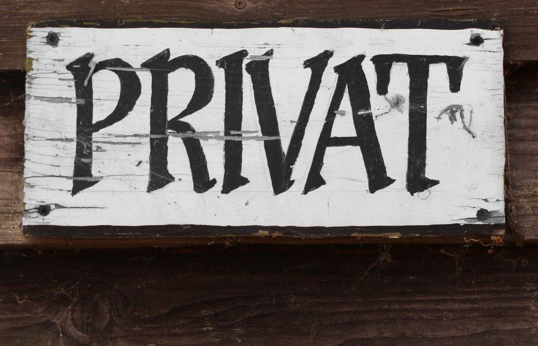 Vorschaubild Privatheit