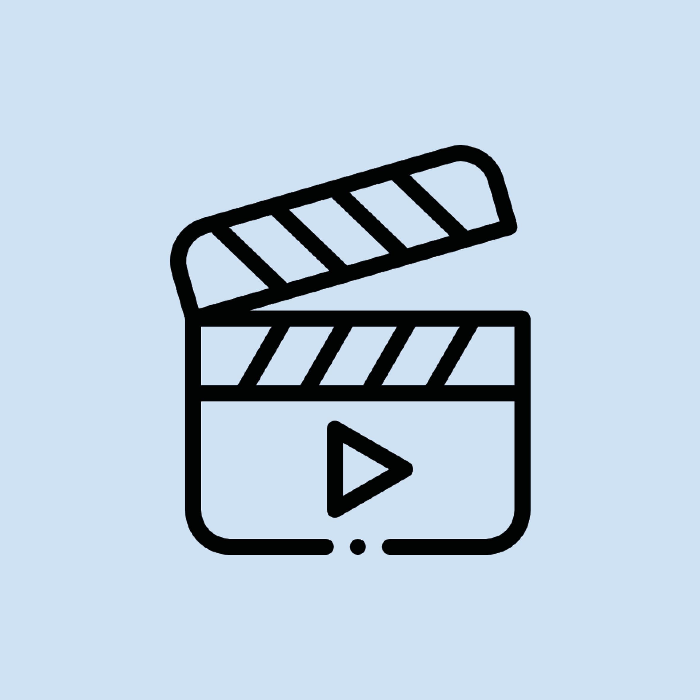 video-kreation Piktogramm